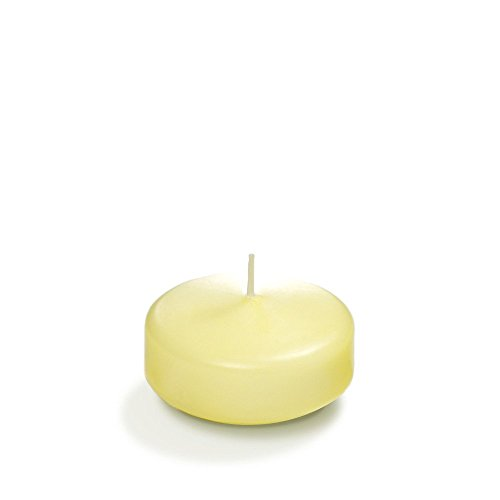 Yummi Floating Candles 3' - Buttercup Yellow - 3 per pack
