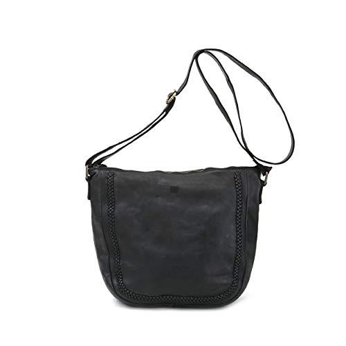 Unbekannt BIBA MILWAUKEE 3L, sac porté épaule, cuir de vachette noir