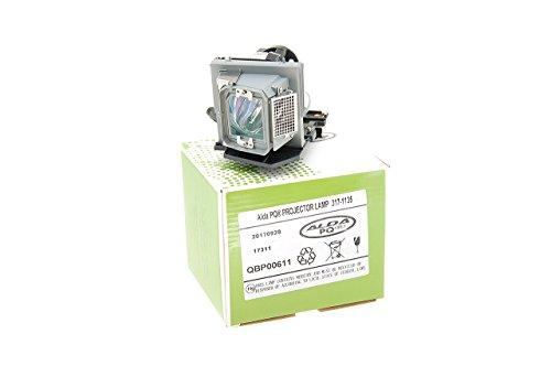 Alda PQ-Premium, Beamerlampe/Ersatzlampe kompatibel mit 317-1135, 725-10134, U535M für Dell 4210X, 4310WX, 4610X Projektoren, Lampe mit Gehäuse