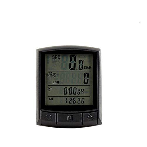 YEATOP Compteur de vélo étanche Compteur de Vitesse sans Fil Compteur de Vitesse sans Fil Montre LED Taux numérique