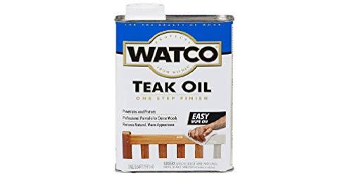 Rust-Oleum. Watco A67141 Teak Oil Finish, Quart