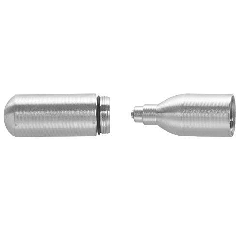 Gesh Herramienta portátil de alta presión para inflar manualmente de CO2 pequeño cilindro extraíble.