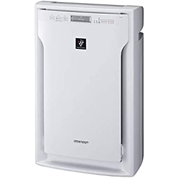Sharp Air Purifier Fu-A80E-Wwith Hepa Filter & Active Plasma Cluster For Upto 600 Sqft