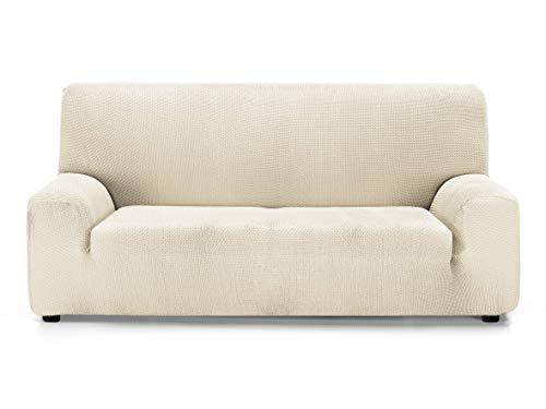 Martina Home Funda de sofá Super elástica Multi Adaptable Daytona, Crudo, 3 Plazas