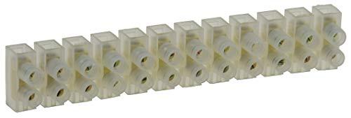 Lüsterklemmen für 1,5-2,5mm² je Riegel 12 Klemmen Messingeinsatz Lüsterklemme