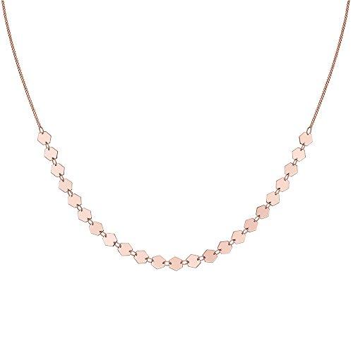 CLUSE Damen-Halskette aus Choker Messing CLJ20003
