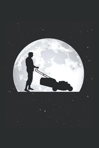 Rasenmäher Tagesplaner: Rasenmäher Mond Gärtner Gärtnerei Rasen / Kalender 2022 / Wochenplaner Tagesplaner Planer / Planungsbuch To-Do-Liste / 6x9 Zoll / 100 ausfüllbare Seiten