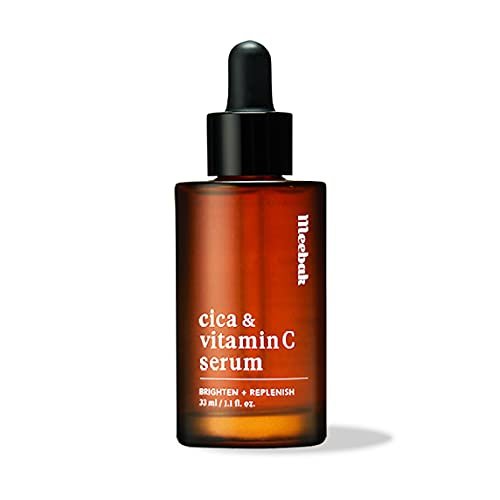 Cica Vitamin C Serum for Face, Korean Face Serum for Anti-Aging, Hydrating, Dark Spot 1.1oz