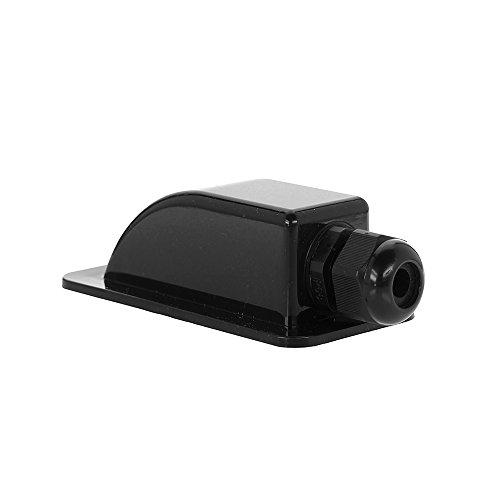 Offgridtec 006425 6425 schwarz für Wohnmobil Caravan Boot Solar Kabeldurchführung ABS, Dachdurchführung 1 - fach Leicht