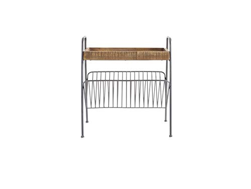 Amazon Brand - Rivet Magazine Table, 54.5 x 43 x 60 cm, Wood