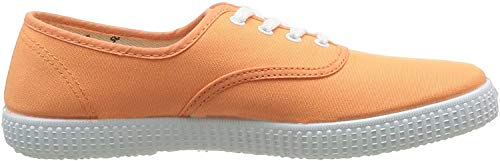Victoria Inglesa Lona 6613, Zapatillas de Tela Unisex, Naranja (Mango), 35