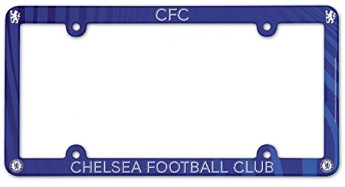 WinCraft Soccer Chelsea FC LIC Plate Frame Full Color