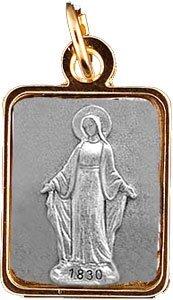MIRACULOUS Medaille, Ketting & Doos, Hanger, CHarm, Medallion