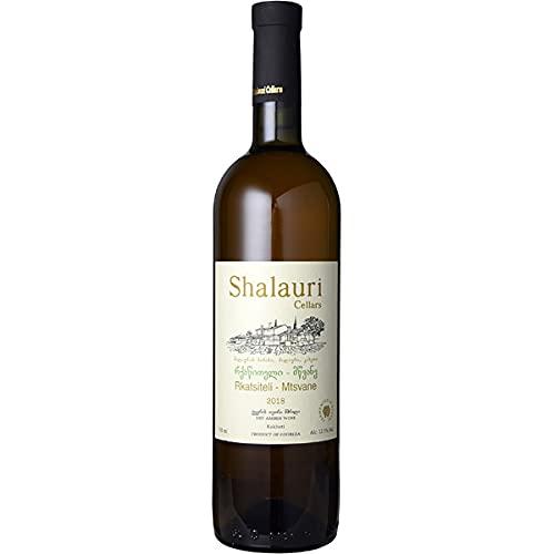 ■お取寄せ シャラウリ ワイン セラーズ ルカツィテリ ムツヴァネ [2018] [ オレンジ ワイン ジョージア カヘティ ]