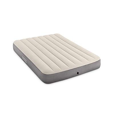 Intex Dura-Beam Standard Series Deluxe Single-High Airbed, Full