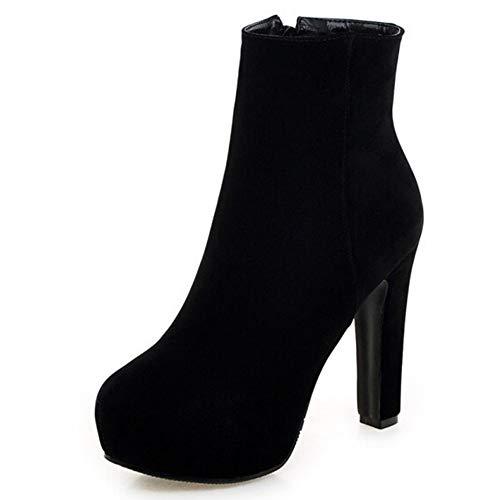 Comfortabel en veelzijdig temperament Enkel laarzen for vrouwen naaldhak 12cm / 5.0