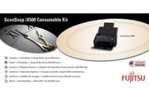 Consumable Kit für Fujitsu IX500/IX500Deluxe Scanner–con-3656–001A