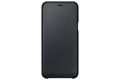 Samsung EF-WA600 Brieftasche Cover für Galaxy A6, schwarz