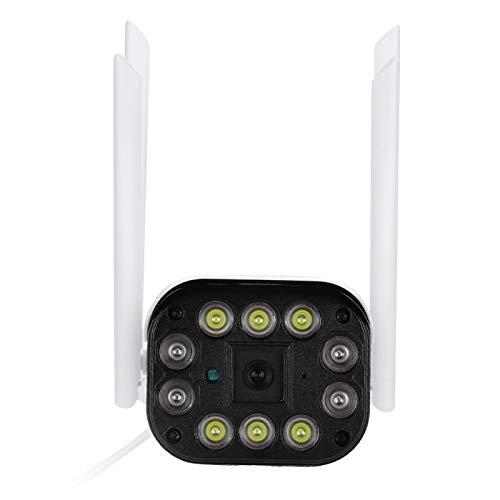 Cámara Bullet de visión nocturna Conexión de red Vigilancia 10 luces para reconocimiento de campo con 4 antenas(720P)