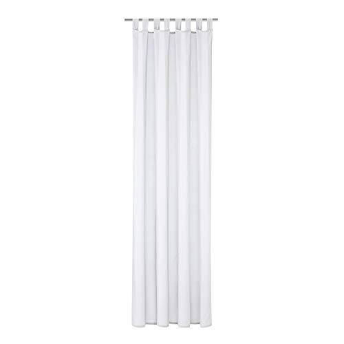 Schlaufenschal Hannah B/H: 140/235 cm halbtransparent (weiß)