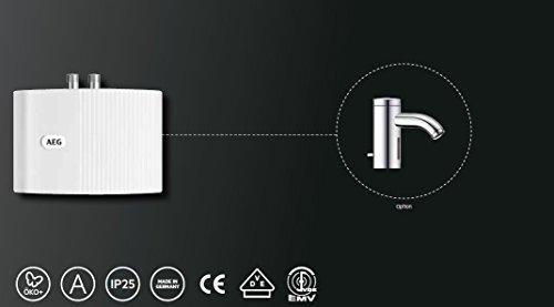 AEG hydraulischer Klein-Durchlauferhitzer MTD 440, 4,4 kW, drucklos und druckfest für Handwaschbecken, 222121 - 7