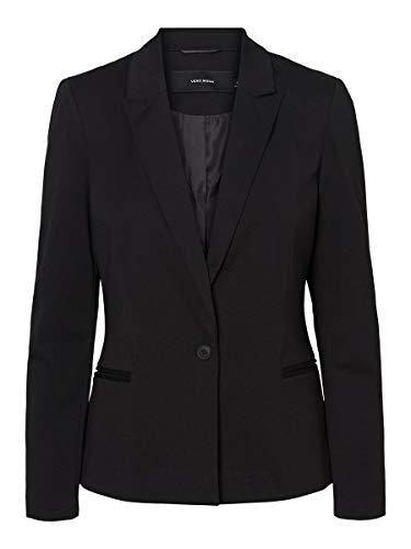 Vero Moda Vmbella LS Blazer Noos Chaqueta de Esmoquin, Black, 40 para Mujer