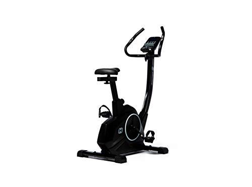 BT BODYTONE - DU20 - Bicicleta Estática para Tus sesiones Fitness en casa - Pantalla Led con Soporte Tablet y pulsómetro - Peso Máximo Usuario 110 KG.