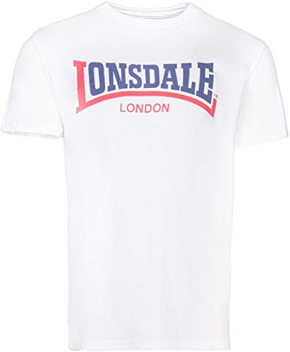 Lonsdale London Hombres Ropa Superior/Camiseta Two Tone