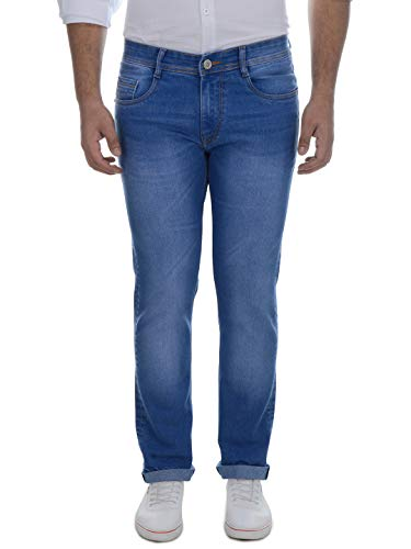 Ben Martin Men's Relaxed Fit Jeans (BM7-JJ-DMG_34-01_Blue_34)