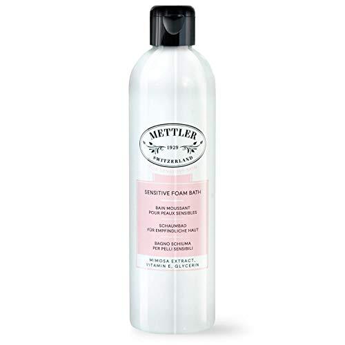 Mettler1929 Bain Moussant pour Peaux Sensibles, 300ml │pour peau sensible │végan – sans parabènes – fabrication Suisse