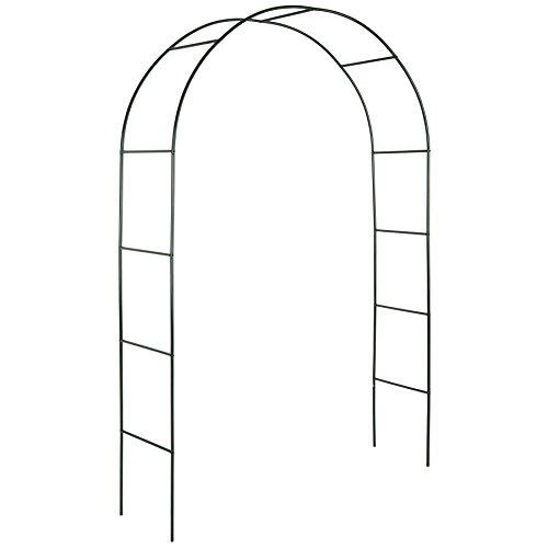 TecTake Arco para enredaderas arco de rosas