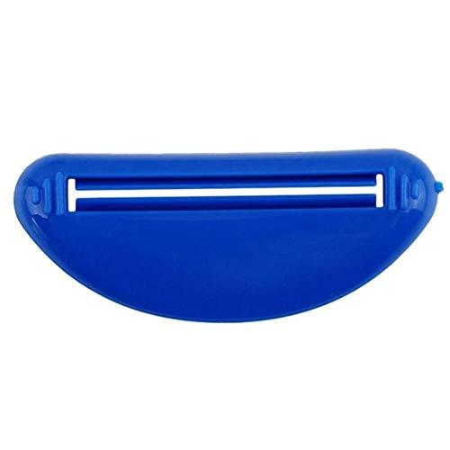 Dispensador de pasta de dientes exprimidor aleatoria portátiles enrollables accesorios de baño Establece tubo de crema exprimidor de tubo de plástico Inicio Fácil de usar (Color : 1pc(Random))