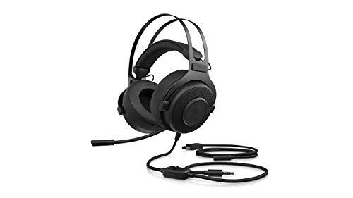 Omen Blast Gaming Headset (7.1 Surround Sound, 53mm Treiber, einziehbares Mikro, Noise-Cancelling, Audio Equalizer im OMEN Command Center, ergonomisch) schwarz