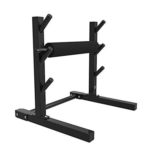 Barbell Rack Squat, Multi Multi Functional Leg Squat Squat, 3 Ingranaggi Regolazione dell'altezza, con tampone a Barre in Nylon, per affondi, spinte dell'anca