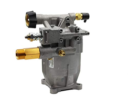 """PEGGAS Horizontal Pressure Washer Pump - 3/4"""" Shaft - MAX 3000 PSI 2.5 GPM - Better than OEM Replacement Pump - Oil Pre-sealed - Aluminum Head - Fits Most Brands: Honda, B&S, Homelite, Waspper etc..."""