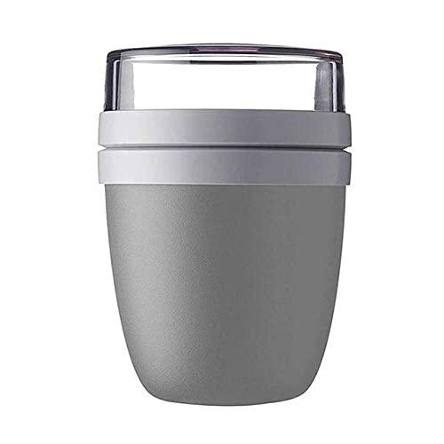 Taza de almuerzo 2 en 1 de 700 ml Creatieve Draagbare Reizen Verse Houden Kom Gaan Lunchbox Yogur moer Verse Houden Cup-China, C