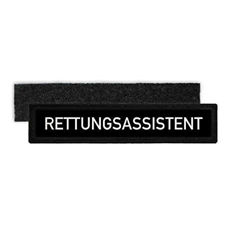 Copytec Rettungsassistent Sanitäter Uniform RettAss RA Namensschild Patch #26705