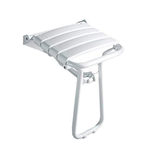 MWPO Taburetes de baño Asiento de baño Plegable Asiento de Ducha sin barreras Taburete de Pared Antideslizante Baño para Ancianos Protección Silla de Pared Taburete de baño