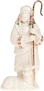 Best Lenox China Jewels Nativity Porcelain Shepherd with Staff Review