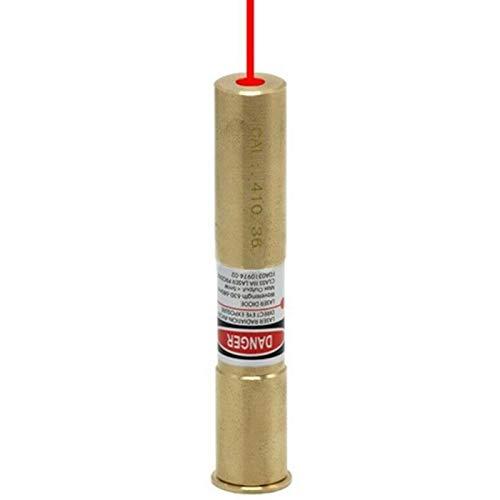 GOTICAL 410 Gauge Red Dot Laser Bore Sighter Laser Trainer Bullet Shooting Simulation Scope Hunting for Rifle Cartridge Red Dot Laser Bore Sight Boresighter
