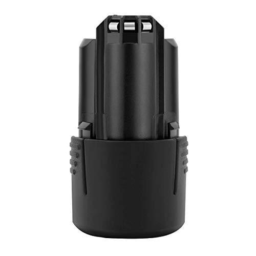 POWTREE 3.0Ah BAT411 Battery Compatible with Bosch 12V/10.8 V Battery GBA12V30 BAT420 BAT411 BAT411A BAT412 BAT412A BAT413 BAT413A BAT414 D-70745 2607336013 26073360 Li-ion Battery(1Packs)