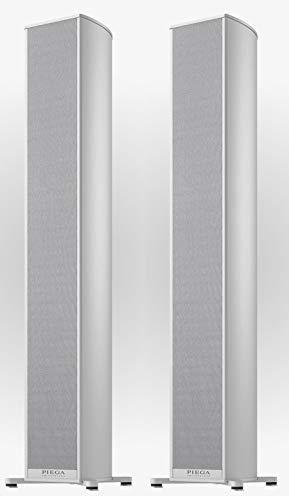 Piega Premium 501 Kabellose Standlautsprecher (Paar) Aluminium – hergestellt in der Schweiz