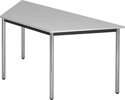 bümö® Tisch für Konferenzraum, Pausenraum, Warteraum od. Besprechungsraum | Konferenztisch System | Meetingtisch in 3 Dekoren & 8 Varianten...