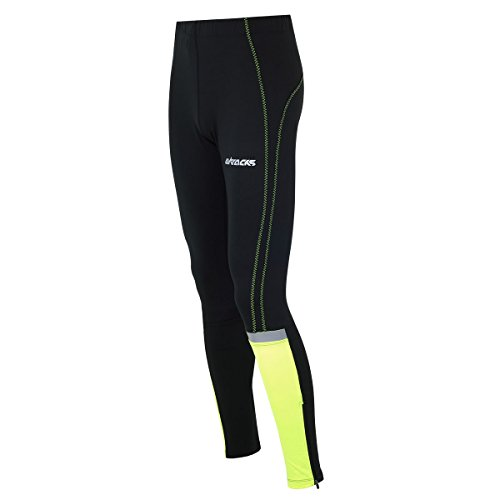Airtracks FUNKTIONS Laufhose/Running Tight/Reflektoren - LANG NEON - XL