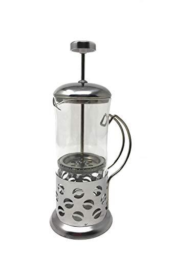 Vetrineinrete® Cappuccinatore montalatte Manuale in Vetro 600 ml Macchina schiumatore schiumalatte per Cappuccino Latte schiumato C57