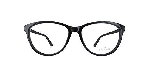 Swarovski SK5184 SK5184-1-Schwarz Schmetterling Brillengestelle 54, Schwarz