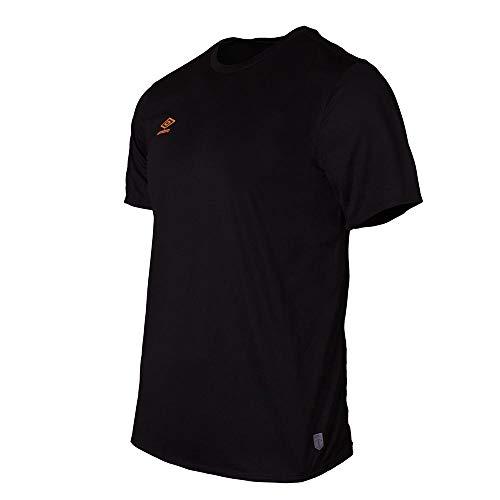 UMBRO 65320u Camiseta Deportiva, Hombre, Negro, XL