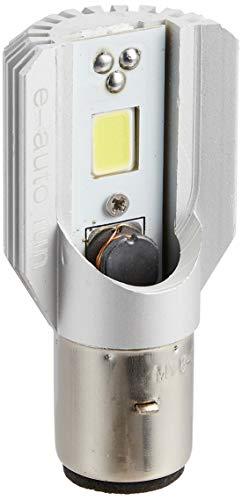 e-auto fun バイクライト LEDヘッドライト ホワイト H4BS 12W 800ルーメン  6V-80V対応 Hi/Lo切り替えタイ...