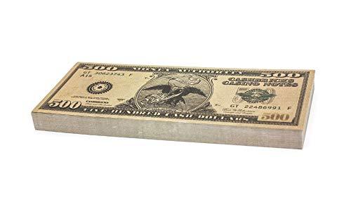 Cashbricks 100 x $500 Dollar Spielgeld Scheine