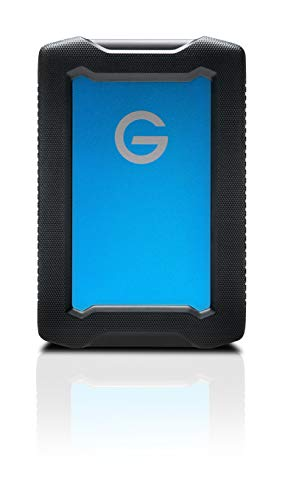G-Technology 1TB ArmorATD All-Terrain Portable External Hard Drive - USB-C, Thunderbolt 3, USB 3.0 - 0G10433-1